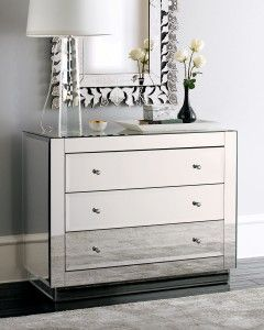 The Enchanting Chest: Mirrored Chest In Home Decor Design Ideas ~ Decoration Inspiration