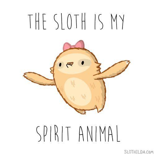 Slothilda Sloth Spirit Animal Sleep