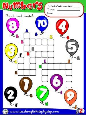 Numbers - Worksheet 3