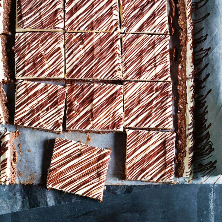 How to make Chocolate & Quinoa Mint Slice #Chocolate #Quinoa #Mint #Slice