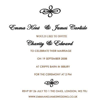 wedding invitation wording etiquette wedding invitation wording 400x400