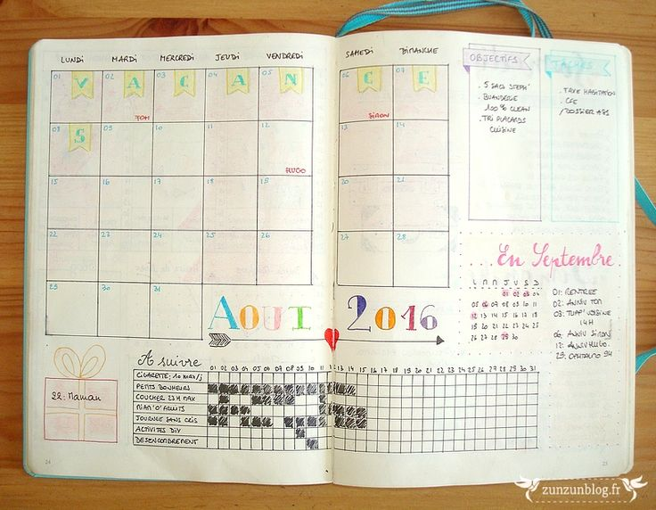 Montlhy Log Bullet Journal