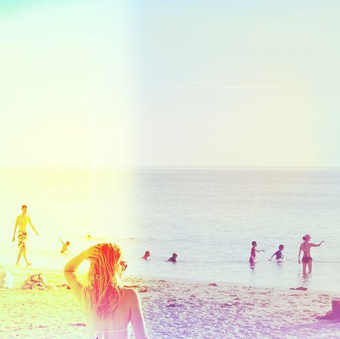 Summer beach days.  Perfect!