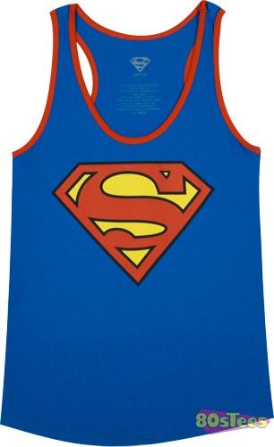 Ladies Superman Tank Top