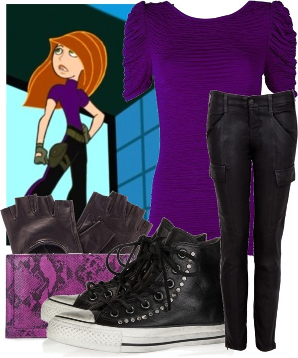 """""""Call me, beep me if you wanna reach me."""" by soyesterday ❤ liked on Polyvore OMG KIM POSSIBE"""