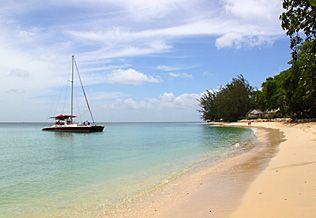 Costa Oeste, Barbados