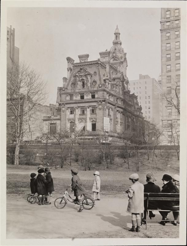 Gilded Age ends - The William A. Clark mansion demolition...all these wonderful old buildings now vanished