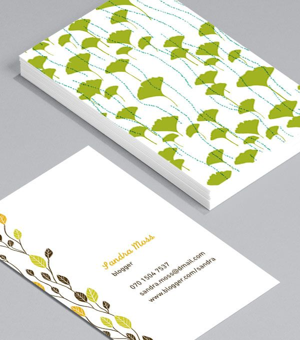 25 best business cards images on pinterest business card design natural communicators these business cards are perfect for crafters makers and sellers in the eco friendly sphere and can be used to promote your reheart Gallery