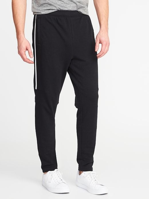 269b9b6d2553 Go-Dry Built-In Flex Mesh-Stripe Track Pants for Men