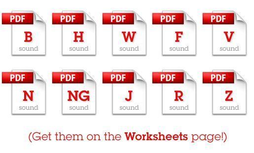 Free articulation worksheets for home practice #kids