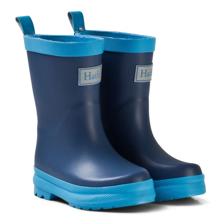 Hatley Navy Wellies | AlexandAlexa