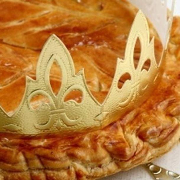 Galette des rois aux pommes et caramel au beurre salé