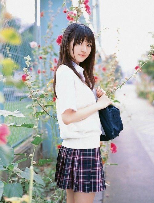 kawaii Stunning girl, beautiful background!
