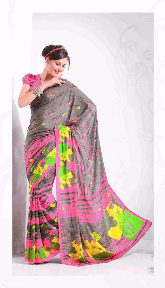 Buy 1 Get 1 Free Indian Dress Pakistani Designer Bollywood Sari Ethnic Partywear #TanishiFashion