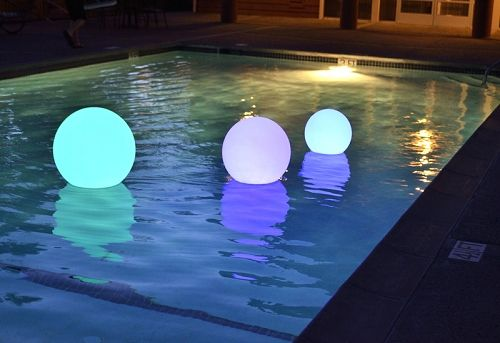 17 best ideas about floating pool lights on pinterest solar pool lights floating in water and for Floating lights for swimming pool