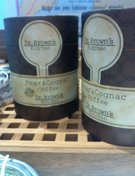 Pear & Cognac Coffee by Dr. Brown's.