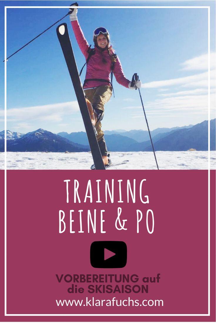 Video: Training für Bauch, Beine und Po! Dieses Workout strafft deine Beine, sorgt für einen knackigen Hintern und starken Rumpf. Dieses Zirkeltraining bereitet dich auf die Skisaison im Winter vor! #bauchbeinepo #skifahren #skitraining #krafttraining #fitnesstraining