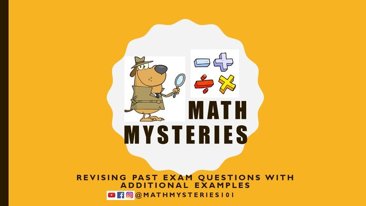 Revise past exam questions with additional examples and revision of the topic.