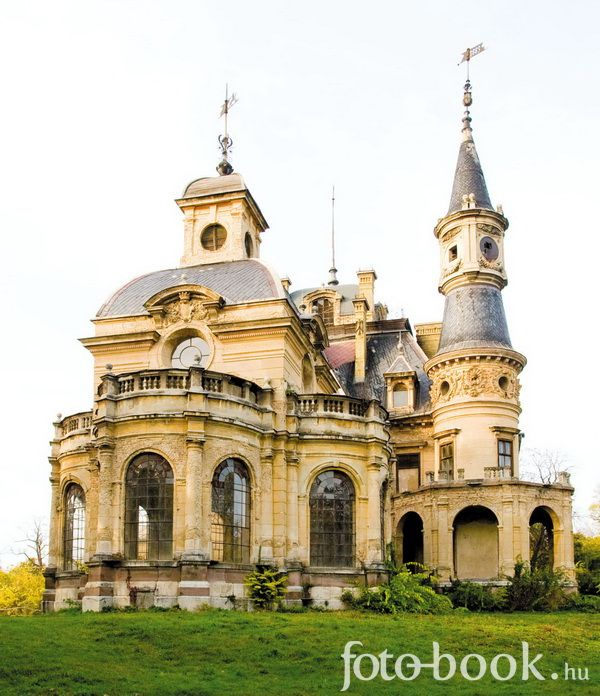 Sclossberger castle, Tura, Hungary,  just 50 kms from Budapest.  On of the most beautiful castles in the world, amazing atmosphere, designed by Miklós Ybl, 1883-87. Currently in sad condition, rumor has it's gonna be a wellness hotel. Not keen on this idea.  foto-book.hu