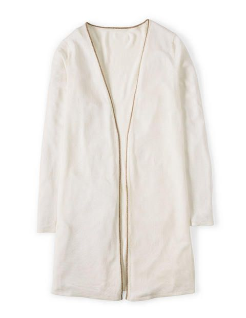 Silk Linen Throw-on WU014 Cardigans at Boden