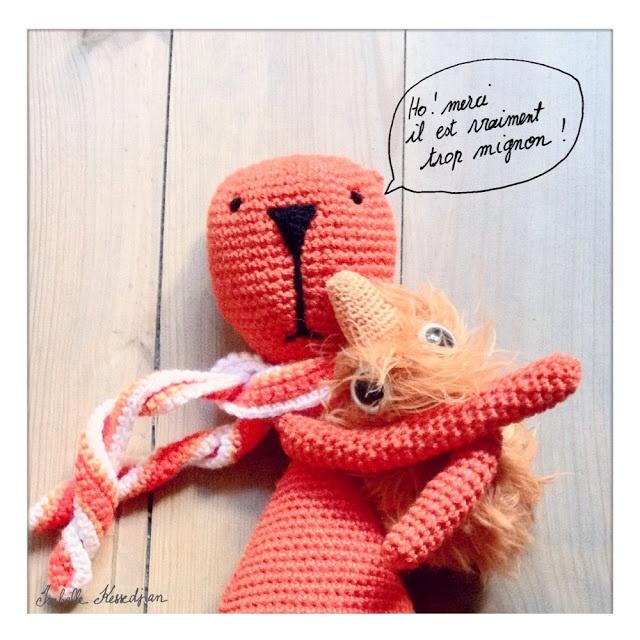 Isabelle Kessedjian: The serial crocheteuses.