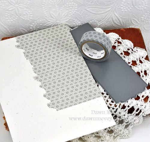 Things to do with Washi tape,  (die cuts)