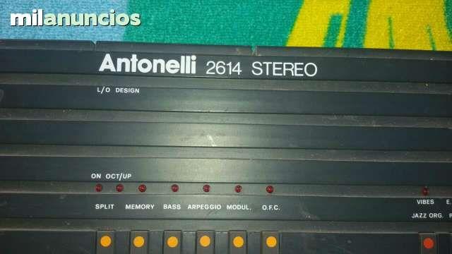 HOLA VENDO TECLADO ANTONELLI - 85$ Alicante