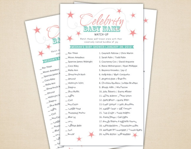 Bridal Shower Games and Activities | DIY