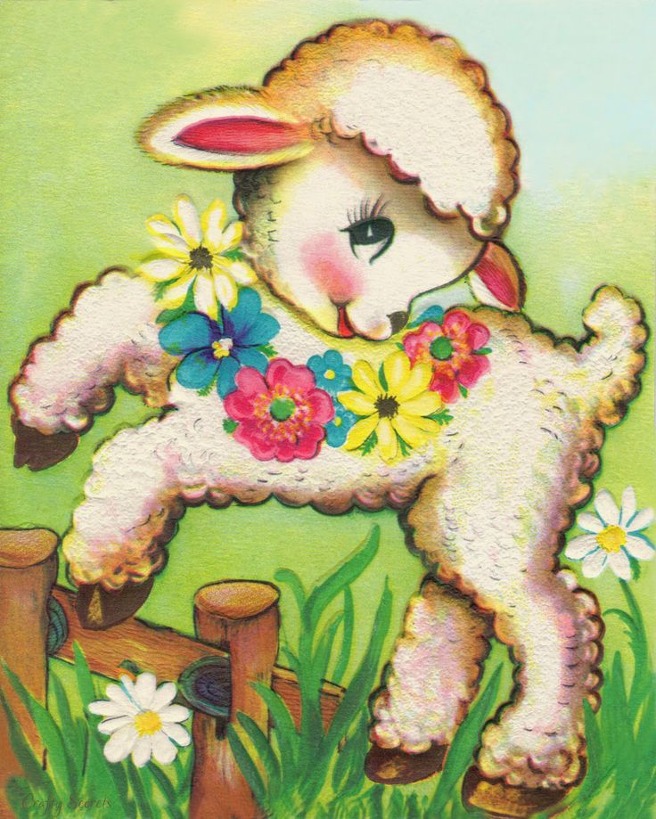 Get Crafty Secrets 2014 Free Easter Printable Lamb - plus many previous Free Easter Printables and also see17 Healthy Easter Treats and Fabulous Spring DT Samples!
