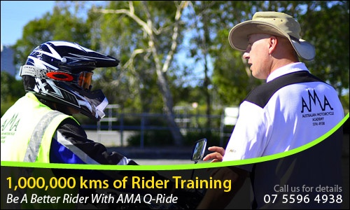 The cool team from AMA QRide.