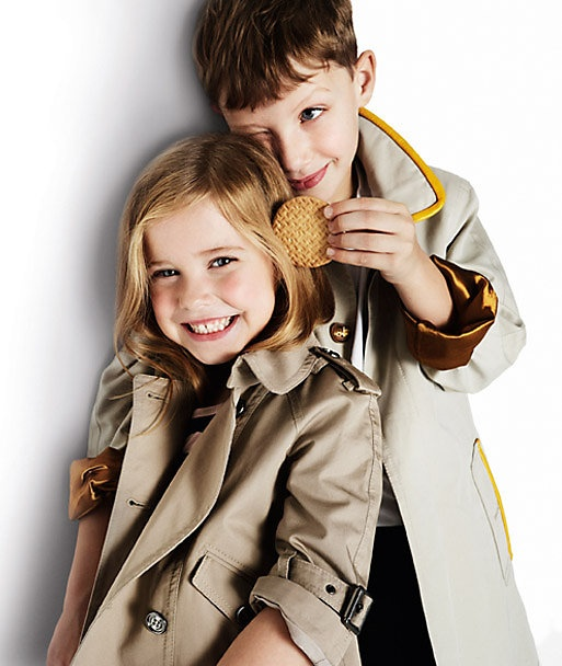 All this rain has me reaching for my trench @Burberry - maybe the kids need