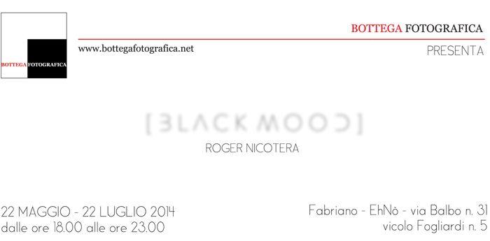 "Prima mostra: ""Black Mood"" di Roger Nicotera"