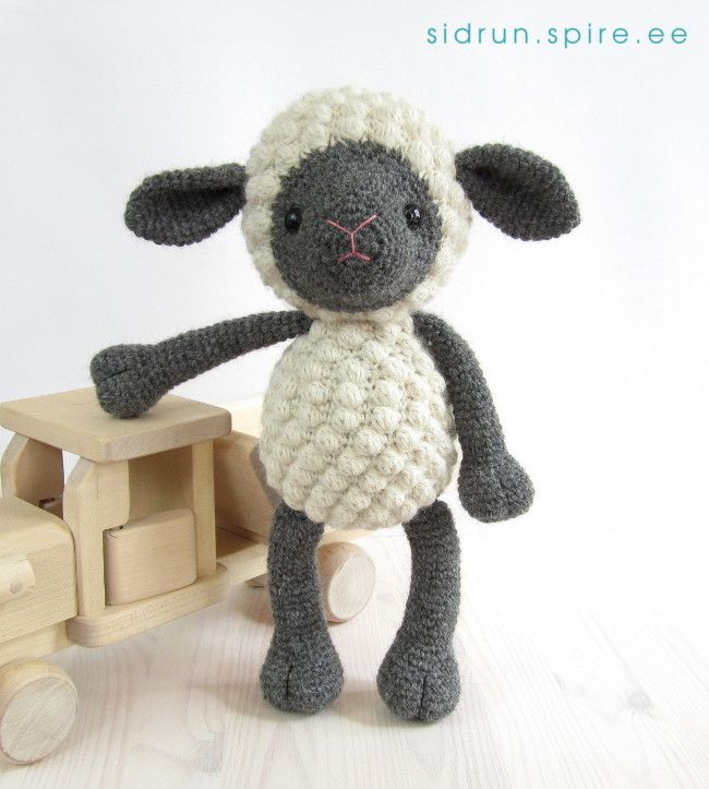 Amigurumi Sheep Pattern- this is quite sweet