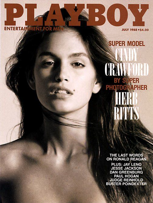 Cindy Crawford Playboy Magazine July 1988