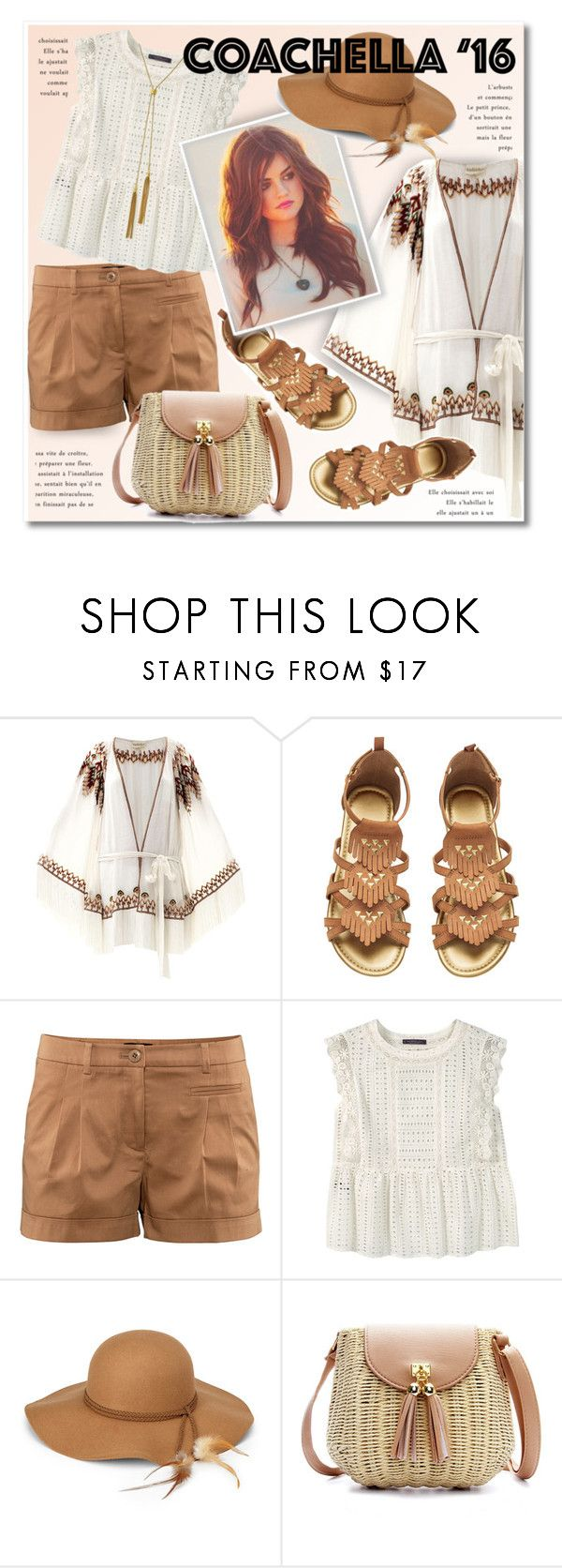 """Coachella 2016"" by petri5 ❤ liked on Polyvore featuring Talitha, H&M, Violeta by Mango, Steve Madden and Vince Camuto"