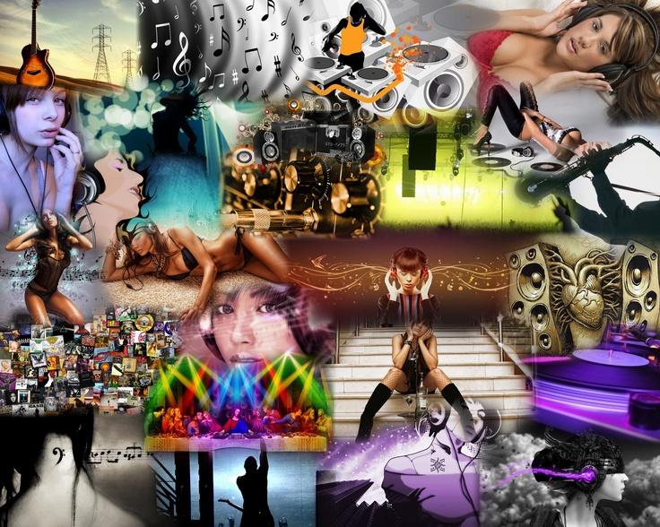 Collage music: Mosaics, Collage Music