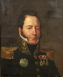 Armand Lebrun de la Houssaye (20 October 1768–19 June 1848) led a cavalry division during the First French Empire of Napoleon. He joined the army of the First French Republic in 1791 and fought at Kaiserslautern in 1793. He was appointed to lead a hussar regiment the following year. Promoted to general officer in 1804, he led a heavy cavalry brigade at Austerlitz, Eylau, and Heilsberg and a division at Friedland.