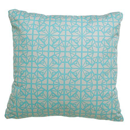 Elemis Cushion Neon Print Mint 43cm x 43cm
