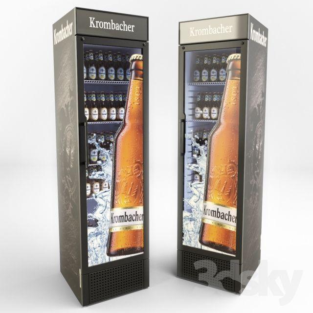 Krombacher beer refrigerator
