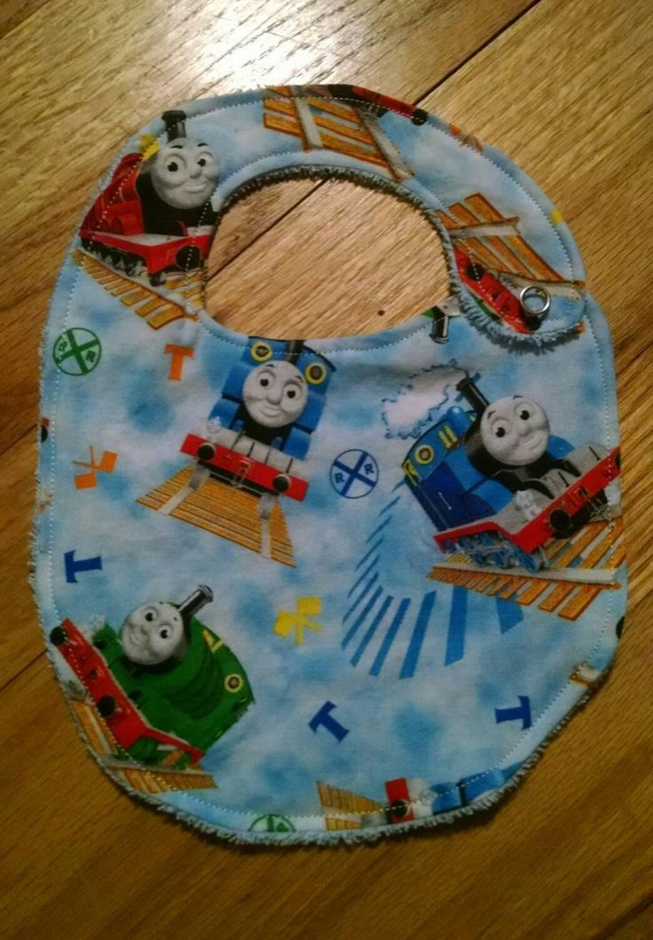 Thomas the Train Engine - Bib or Burp Cloth