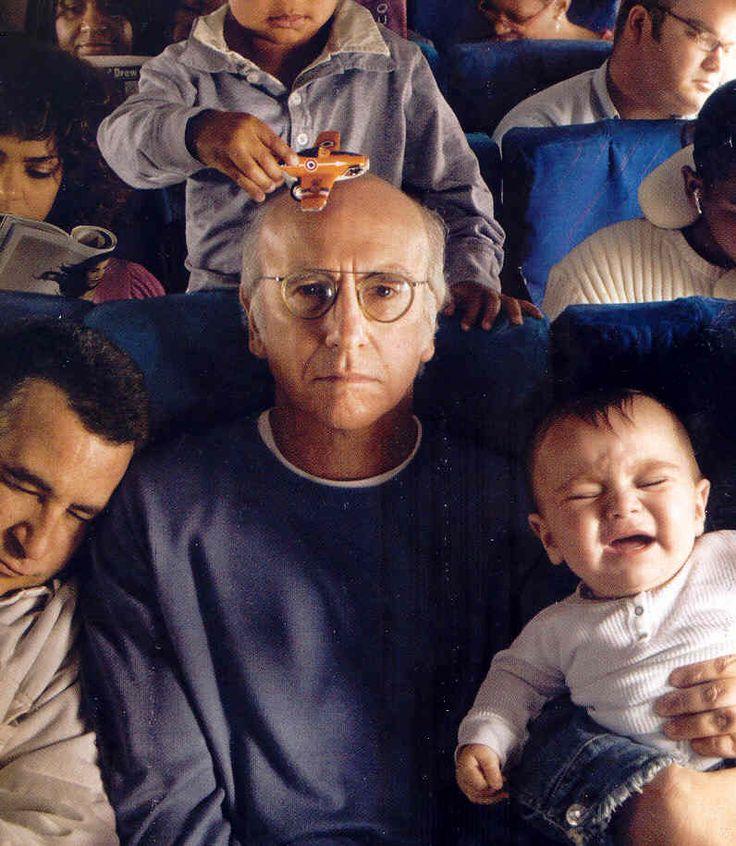 Larry David.Funny Celebrities Pictures, Laugh, Televi Comedy, Annie Leibovitz, Humor, Larry David, Random Stuff, Full Flight, Funny People