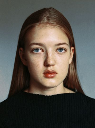 Test shoot of new face Sofie at Heartbreak management