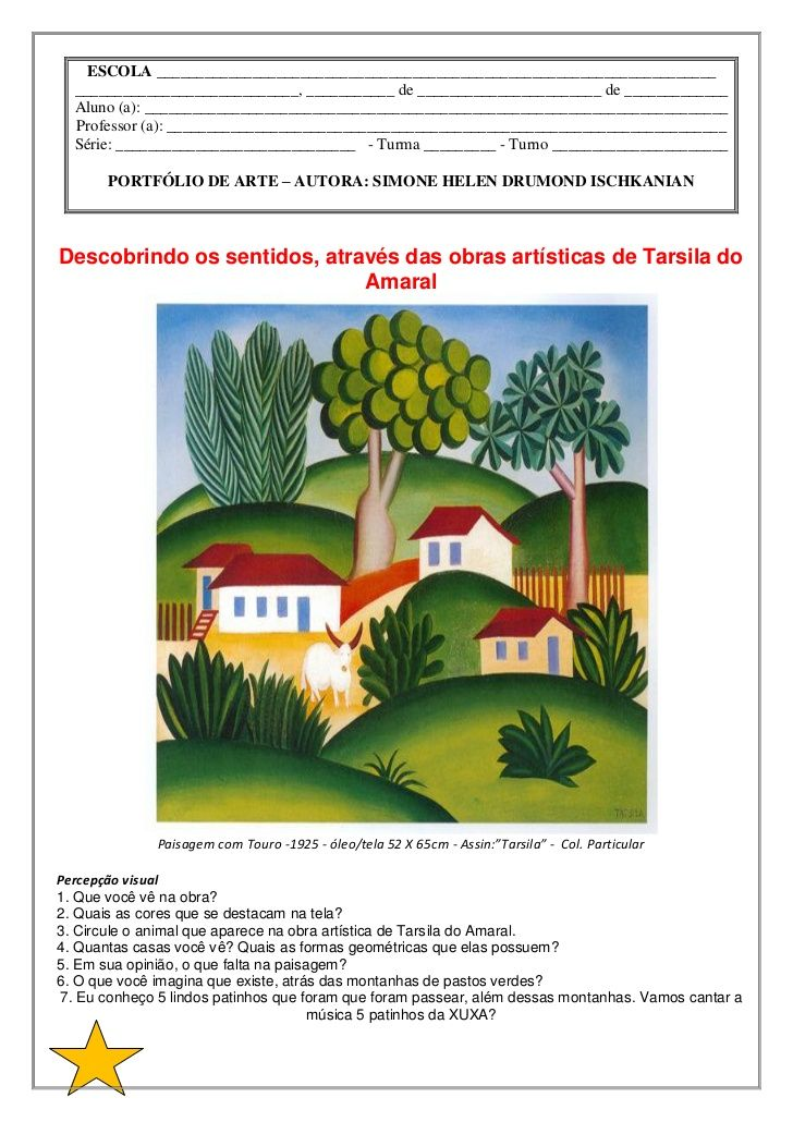 O Touro De Tarsila Do Amaral