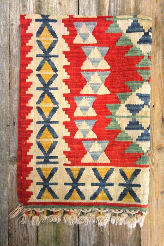 Turkish Kilim Rug - love this style of rug