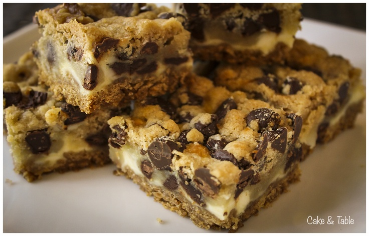 Cookie Dough Cheesecake Bars | Recipes | Pinterest