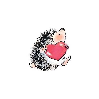 Penny Black Rubber Stamps Hedgehog Heart Stamp | eBay