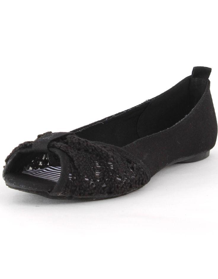 Black+peep+toe+Shoes+Flats | Home U0026gt; Shoes U0026gt; Women U0026gt; Flats ...