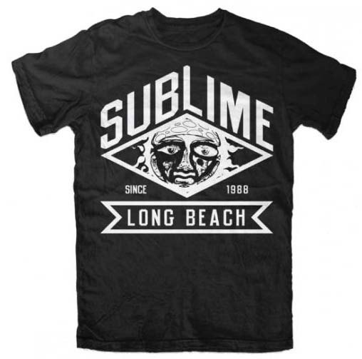 Sublime Diamond Sun Logo Concert T Shirt s M L XL | eBay