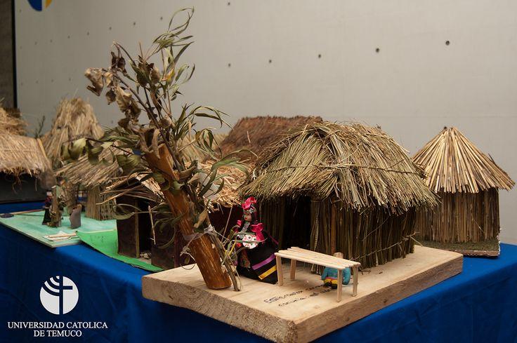 Maqueta, Ruca Mapuche