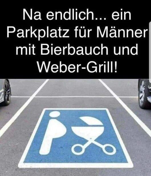 Männer lustig witzig Bild Bilder Sprüche Spruch. Parkplatz – #Bild #bilder #lu…